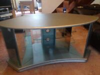 TV corner stand.