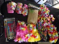 Huge bundle of Hawaiian partyware