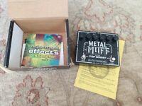 Electro Harmonix Metal Muff Guitar Pedal