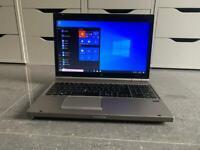 """As new HP EliteBook 8570P 15.6"""" laptop intel core I5 3rd gen 3.20ghz 4GB RAM 500GB HDD Win 10"""