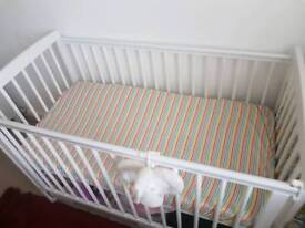 Baby Cot with Metress