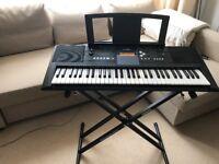 Yamaha PSR E333 Keyboard, almost New