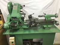 Myford Super-7 lathe with accessories