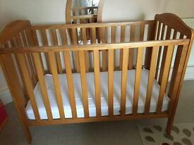 Mothercare cot as new see description