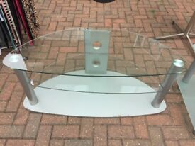 Glass 3 Tier TV/Entertainment stand