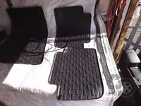 GENUINE BMW RUBBER MATS IN BACK