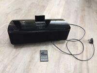 Pioneer XW-NAS5 iPod speaker FM radio and alarm clock