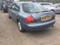 FULL SERVICE HISTORY FORD MONDEO GHIA X MODEL FULLY LOADED BLACK LEATHER ELECTRIC SEATS AIR