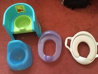 MOTHERCARE POTTY TRAINING SET KIT INCLUDES EVERYTHING U NEED