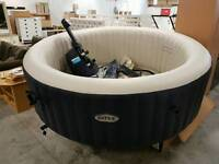 Intex hot tub