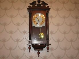 as new wooden wall clock