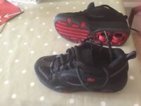Black Wheeley shoes Size 4 UK Hardly used In very good condition