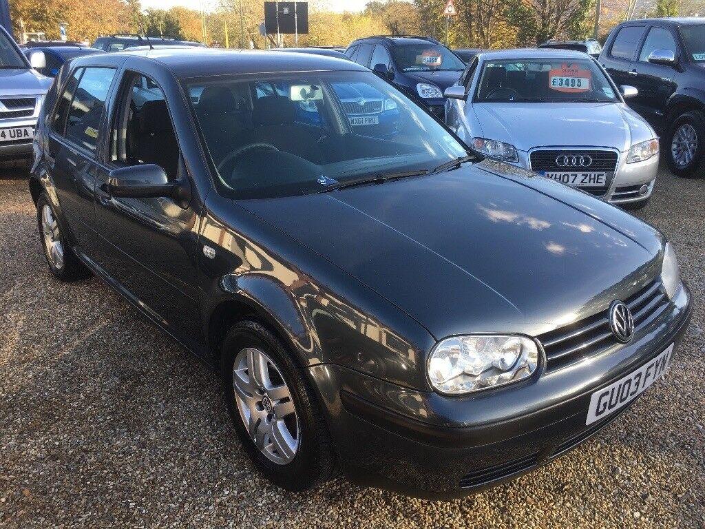 2003 VW VOLKSWAGEN GOLF MATCH 1.6 5DR HATCHBACK GREY LOVELY EXAMPLE