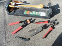 Plasplugs Tile Cutter and Tools