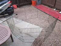 PERTH LARGE DOGGY PUPPY PEN, AN NEW ONLY £55