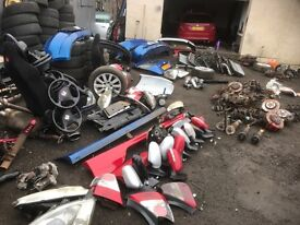 Honda Civic e2 sport and ep3 type r parts k swap, breaking