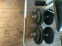 Gym weights 80£