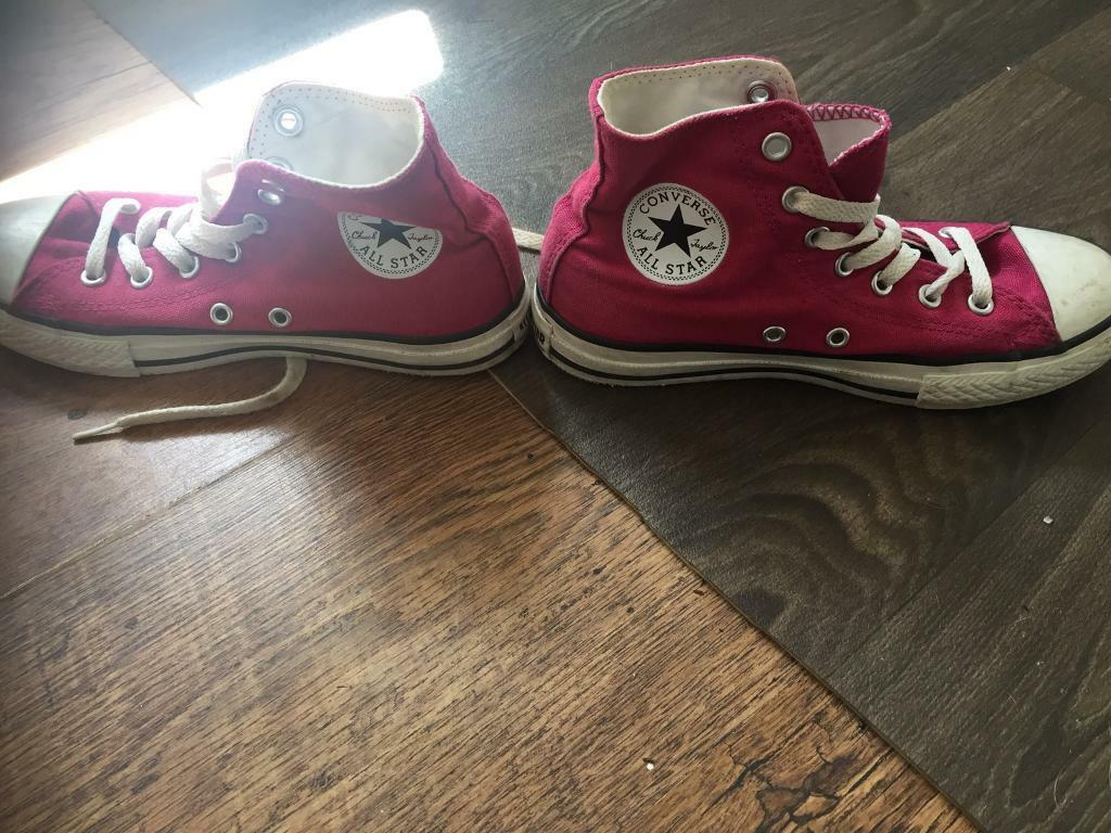 Genuine girls size 2 converse
