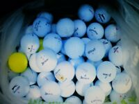 GOLF BALLS 100 USED, used for sale  Dorset