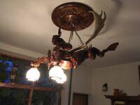 Wooden Handmade Chandelier