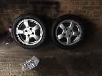 Used Honda Civic VTI wheels.
