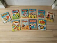 Dandy and Beano annuals