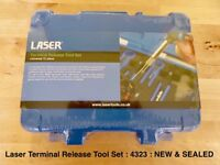 Laser Universal Electrical Plug Terminal Release Tool Kit 12pc 4323 *NEW & SEALED* Cheapest online!