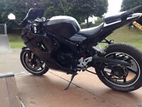 Hyosung gt125r +stand and locks. ( not yzf ybr cbr ) with small walk around video in the link below.