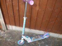 frozen inline scooter