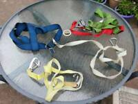 Yachting harnesses