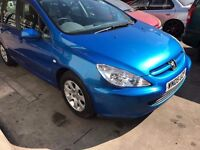 Peugeot 307 S HDi 12 months MOT only £899