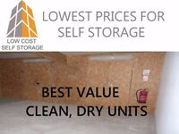 BEST PRICED SELF STORAGE IN NI! We will NOT be beaten on price.