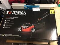 Sovereign 40cm Push Petrol Rotary Lawn Mower - Brand New Boxed