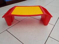wilco lego type small play table