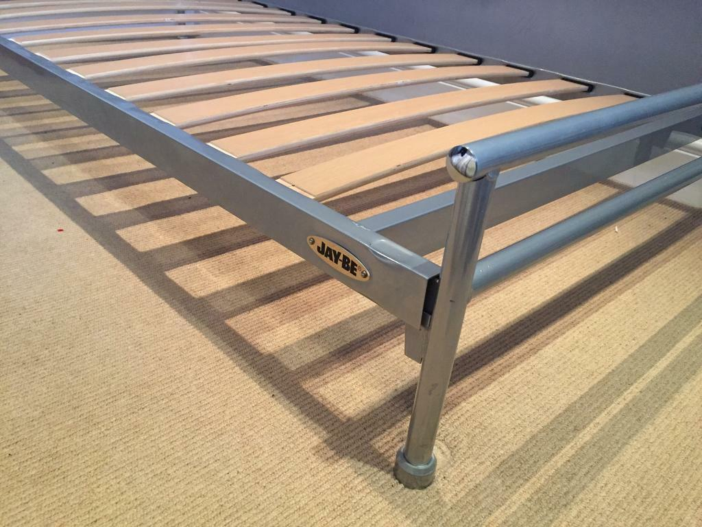 Single Jay-Be stainless steel bed frame | in Flitwick, Bedfordshire ...
