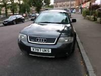 Audi A6 Allroad Quattro Automatic spares or repair