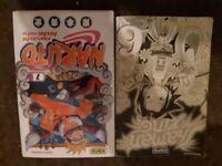 Kana shaman king and naruto french manga comic books.