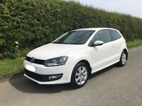VW Polo -Match Edition Candy white