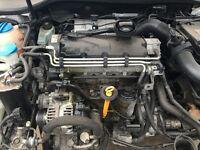 VW GOLF MK5 04-08 2.0 SDI BARE ENGINE 90K MILES ENGINE CODE: BDK
