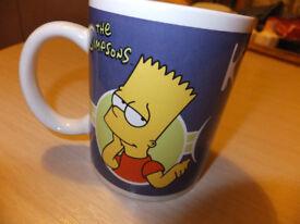 Bart Simpson & crusty Tea Mug