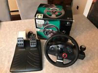 PS3/PC Logitech Driving Force GT Steering Wheel
