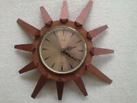 Anstey and Wilson starburst clock