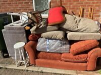 Sofas, chairs, stools free to collect now
