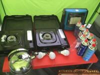 Camping equipment and trailer