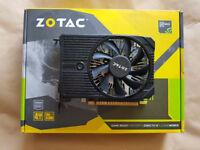 Zotac Nvidia GeForce 1050Ti 4GB ITX Graphics Card