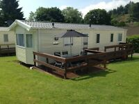 27th Aug - 3rd Sep - Lovely new 6 berth caravan Nr Tenby. Outdoor heated swimming pool on park £580