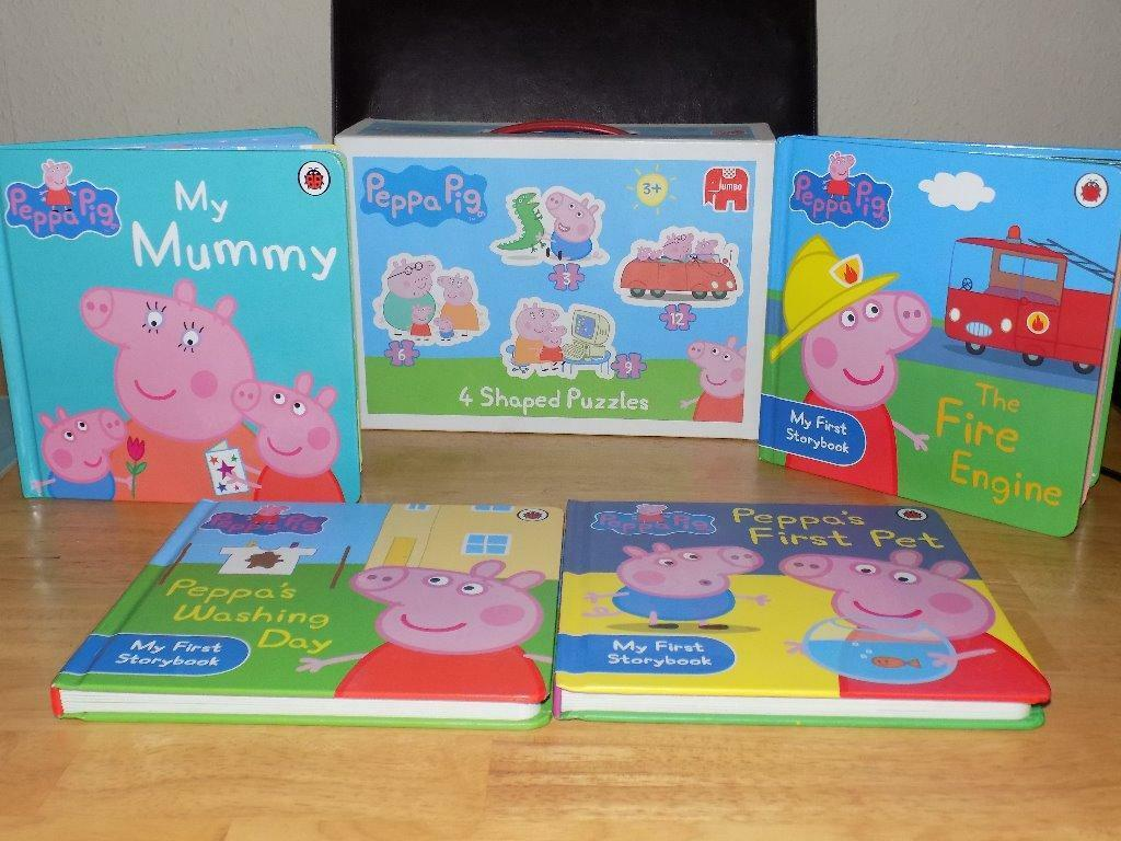 Peppa Pig Washing Peppa Pig Bookjigsaw Bundle