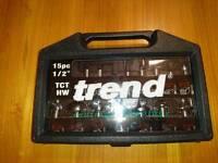 TREND router bit set