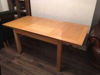 Solid Oak Extendable Table