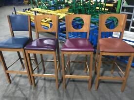 Pub style high seating chairs